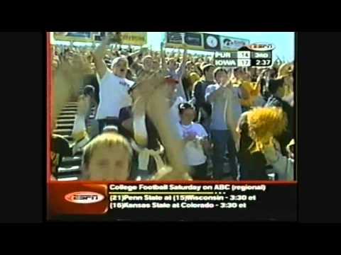 Hawk History -- Iowa vs Purdue 2002