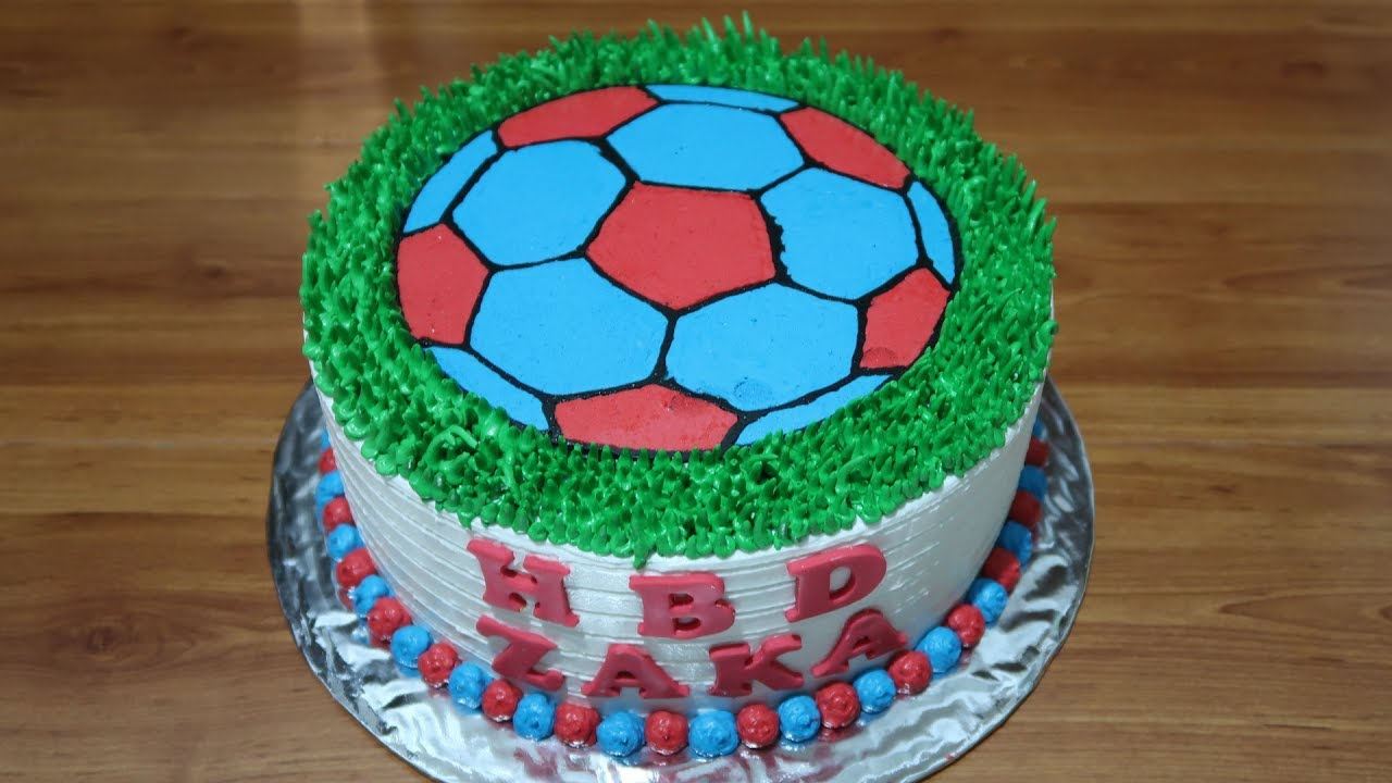 Birthday Cake For Boys Without Nozzle
