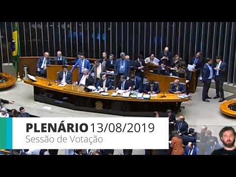 Plenário - Votação da MP da Liberdade Econômica - 13/08/2019 - 19:54