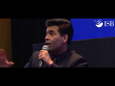 In conversation with Karan Johar at the ISB Leadership Summit (ILS) 2017