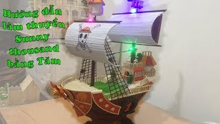 Hướng dẫn làm thuyền bằng tăm tre sunny thousand | Dạy làm nhà tăm a-z ( phần 5 )