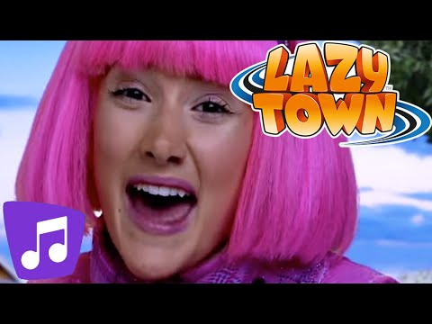 Lazy Town | Lazy Town Music Video Mega-Mix!