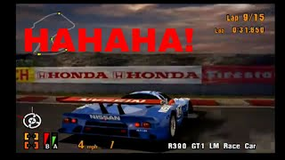 Gran Turismo 3 EPIC RACE! SO MANY SPINS IN THE GT ALL STAR RACE!