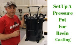 How to convert ANY Paint Pot into a Pressure Pot for Resin Casting