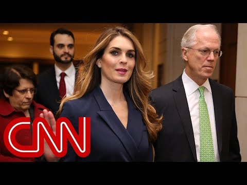 Why Hope Hicks left the White House