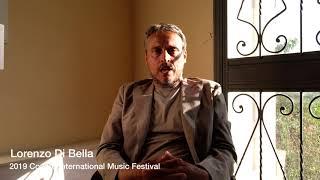 2019 Conero International Music Festival Interview-Lorenzo Di Bella
