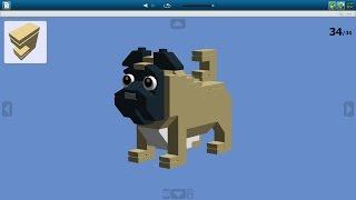 Как сделать собаку мопса из Lego \ How to make a pug dog from Lego