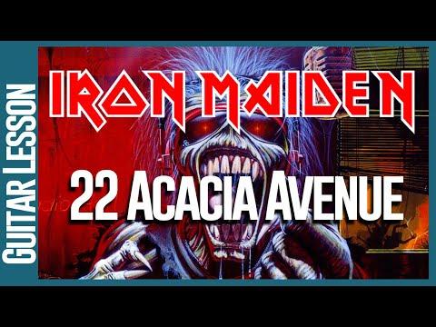 22 Acacia Avenue By Iron Maiden - Guitar Lesson