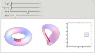 Motion Traced on the Torus and Klein Bottle