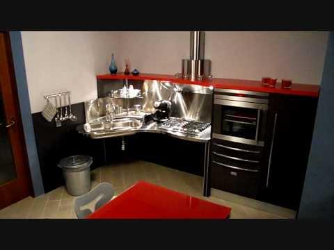Cucina per disabili Skylab - YouTube