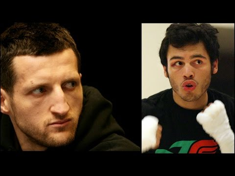 FROCH VS CHAVEZ JR REALLY ALMOST DONE FOR VEGAS EARLY 2015! HBO PPV? CARL NO FIRE FOR DeGALE!