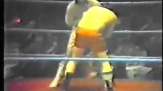 Lenny McLean Vs Johnny Clark (full fight)