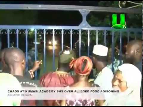Chaos At Kumasi Academy Over Alleged Food Poisoning