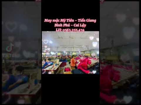 Công ty TNHH TM SX XNK May mặc  Mỹ Tiên - Tiền Giang
