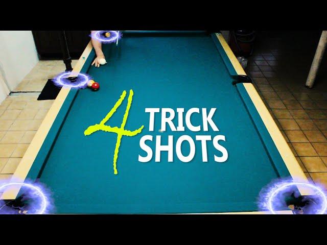 4 Pool Trick Shots: Volume 4
