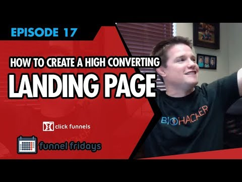 How To Create A High Converting Landing Page - Watch Us Demo This Sales Funnel Software