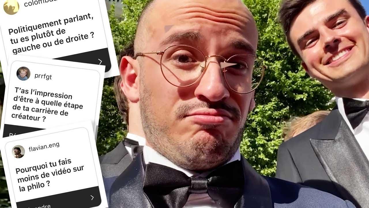 Je réponds à vos questions, au Festival de Cannes ! (FAQ)