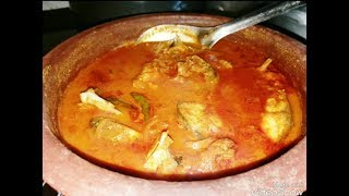 Kerala fish curry with coconut milk by cooking with Girija/Fish curry with coconut milk/ Meen curry