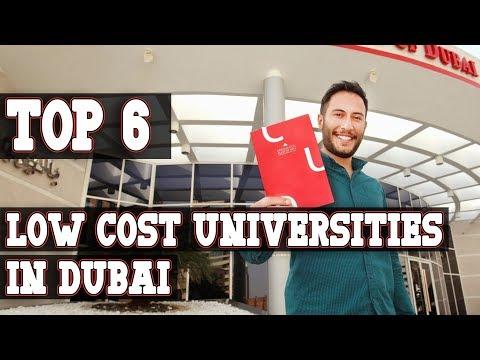 Top 6 Low Cost Universities in Dubai