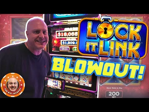 🔑HOW MANY BONUSES CAN I GET?! 🔑 Lock It Link Multi-Game Bonus Blowout! 🎰 - 동영상