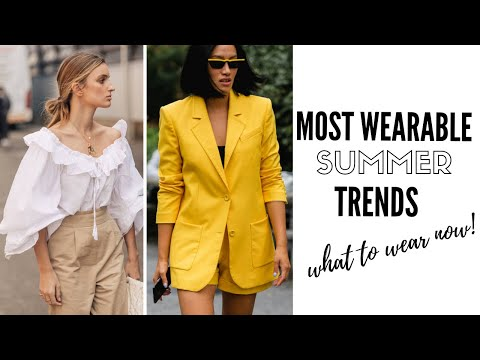 Top Wearable Summer Trends | Fashion Trends 2019