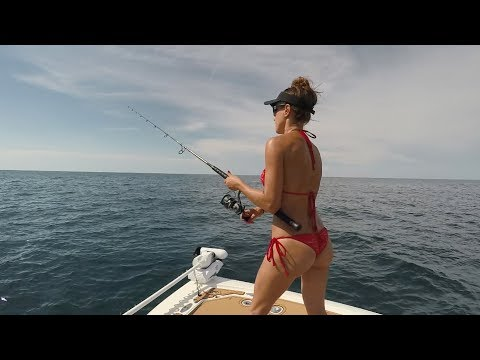 OFFSHORE FISHING in the Gulf: Mackerel, Grouper, Snapper & Kingfish!