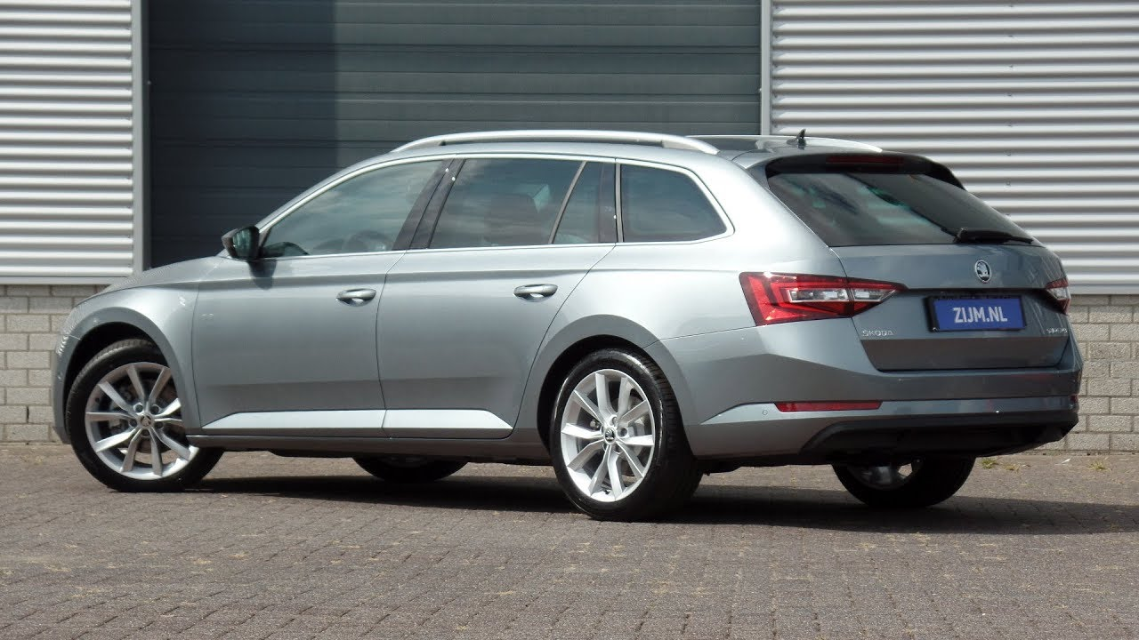 Skoda New Superb Combi 2018 Style Business Metal Grey 18 Inch