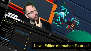 Level Editor Animation Tutorial - Clone Drone In The Danger Zone