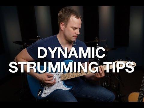Dynamic Strumming Tips - Rhythm Guitar Lesson #11