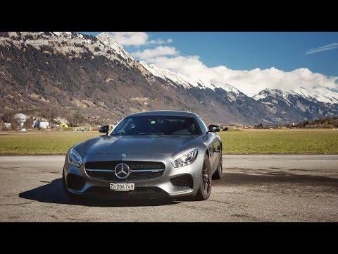 Driving A Mercedes AMG GTS Across Switzerland