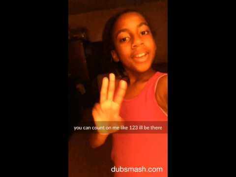 Dubsmash You can count on me like 123 I'll be there!!1️⃣2️⃣3️⃣