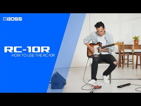 How to use the BOSS RC-10R Rhythm Loop Station