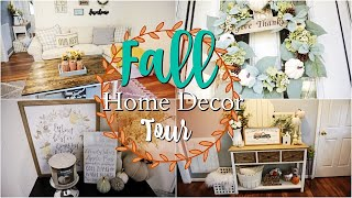 🍁 Fall Home Decor Tour 🍁