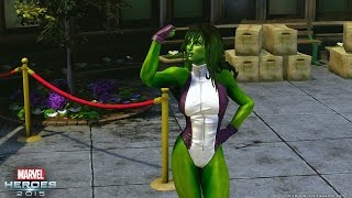 Marvel Heroes 2015 – She-Hulk Trailer