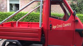 Vespa Piaggio Ape 50 Cross Country