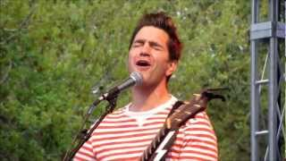 Andy Grammer - Chasing Cars ( Snow Patrol cover ) ( Downtown Food & Wine Festival 2-24-13 )