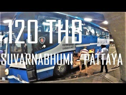 Suvarnabhumi – Pattaya BUS 120 THB