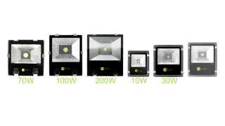 Owl Pack Outdoor LED Flood Lights - 70, 100, 200W