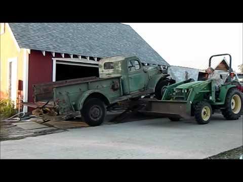 1955 Dodge Power Wagon Needs TLC