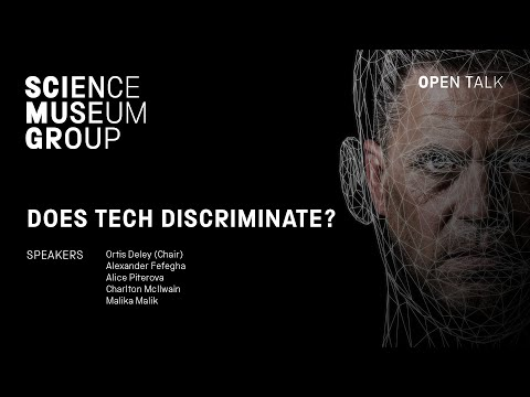 Does Tech Discriminate? An Open Talk panel discussion chaired by Ortis Deley