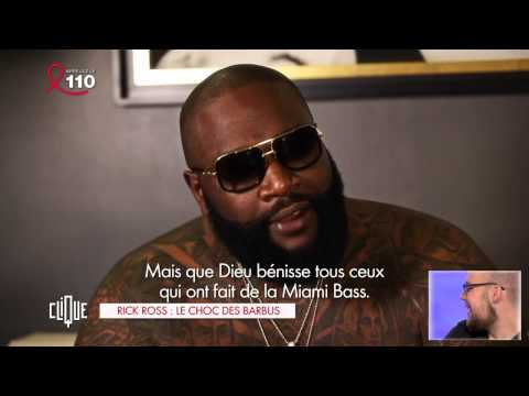 Rick Ross bugging out in interview