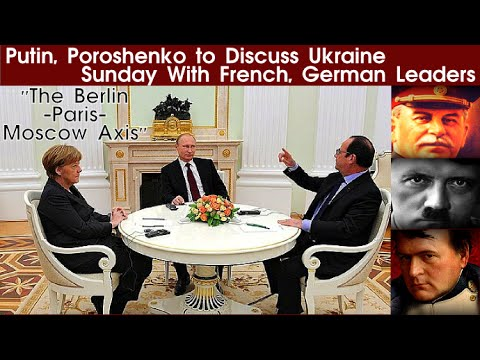 Putin, Poroshenko to Discuss Ukraine Sunday With French, German Leaders