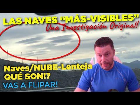 """Las Naves """"MásVisibles"""" o las """"Naves/Nube-Lenteja"""": Qué pueden ser? Una investig"""