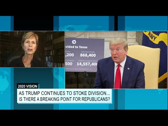 Former NJ Gov. Christine Todd Whitman (R) on the GOP's Breaking Point for Supporting President Trump