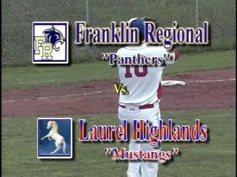 WPIAL High School Baseball Franklin Regional at Laurel Highlands 4/24/17