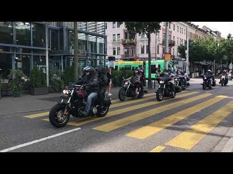 Biker Days 2017 durch Basel