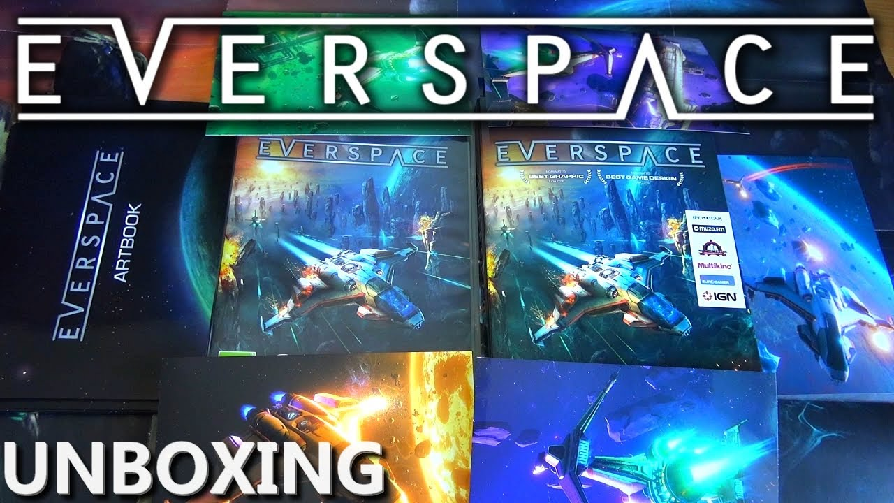 Everspace – Unboxing PL (Big Bang Edition na PC + press kit)