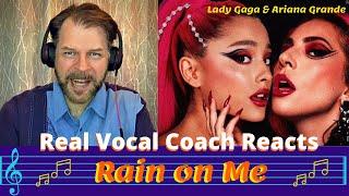 "Baixar Real Vocal Coach Reacts to LADY GAGA & ARIANA GRANDE ""Rain on Me"" | Reaction & Review"