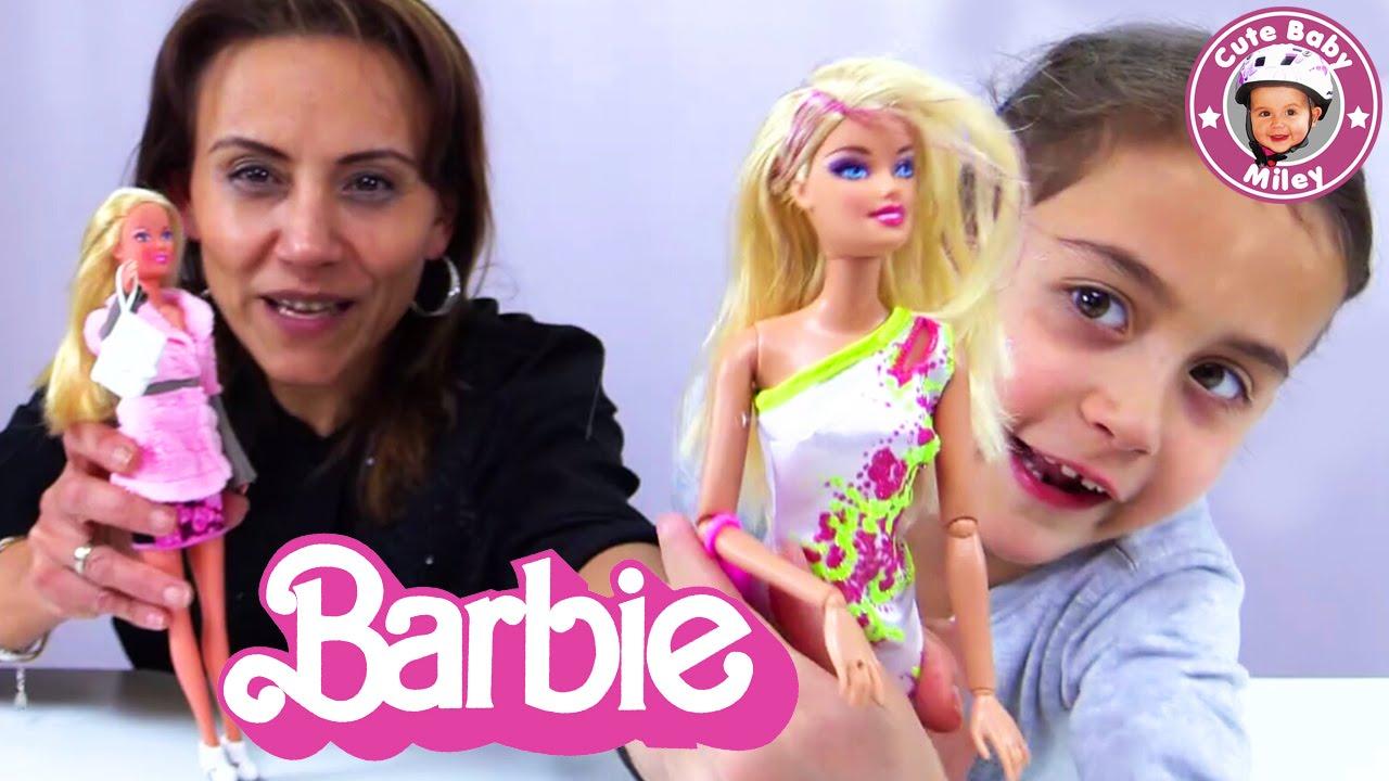mileys barbie puppen bekommen neue kleider cutebabymiley youtube. Black Bedroom Furniture Sets. Home Design Ideas