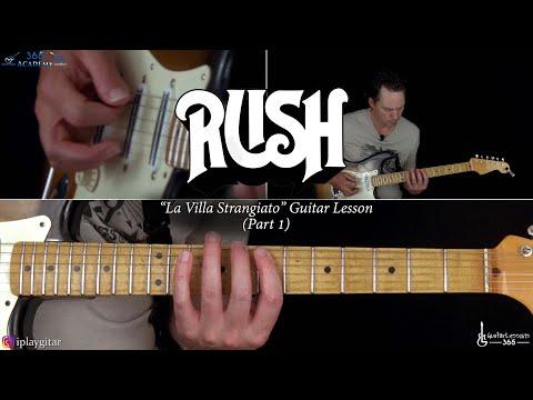 Rush - La Villa Strangiato Guitar Lesson (Part 1)